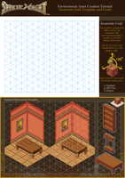 Sprite Might Isometric Grid Template and Guide by spritemight