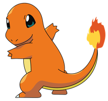 Charmander-Retro Cursor by XL-SwAt