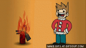 Webcam- BURNING MONTAGE from Eddsworld by EpicBlueBomber