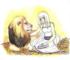 Narnia and Aslan by XxX-kun-kun-XxX