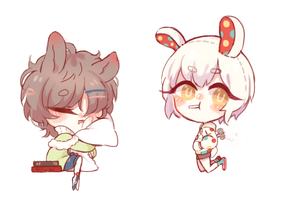 [r] bunny cheebs~ by Brabbitwdl