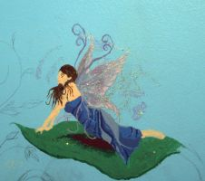 Mural-Fairy by Crystalen-Designz