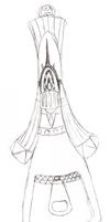 Scribbly Knight Design WIP by Bunni89