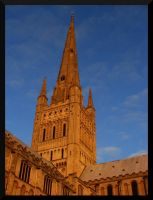 Norwich Cathedral by lexxi