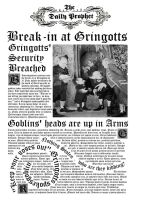 Daily Prophet- Gringotts break-in by decat