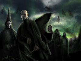 Dark Lord Voldemort by kmgenius