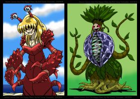 Queen Cancer And Happy Plant by Enshohma