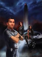 G.H.O.S.T. Teams - Book One (Cover) by Tanathiel