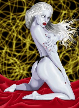 Lady Death by judas-christ
