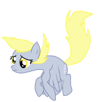 Derpy hooves vector by FKandFriends