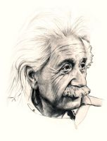 Albert Einstein by jimbo101