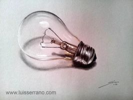 Light bulb by legserrano