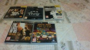 So yeah.. I got... 'some' new games.. xD by Kapo-Chan