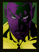 Sinestro - Colored by centric-prometheus