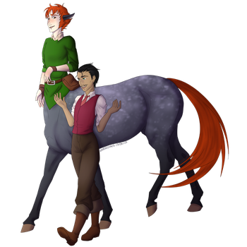 Commission: Best Boys by NorseChaos