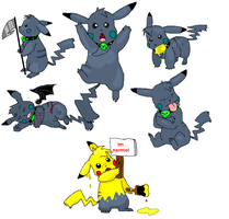 werechu randomnes by timmy-gost