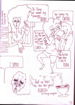 mme. confine and the intimate confession pg.1 by PrettySquirrels