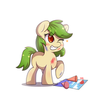 Filly Green Cracker by tikrs007