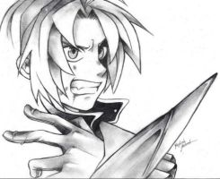 Edward Elric by phiahthedalmatian