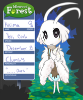 Idlewood Forest App: Kirima the Yeti Crab by amberdragonling