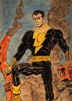 Black Adam by KariInlove