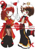 ::Royal Deck:: Royal Hearts by shiorimaster