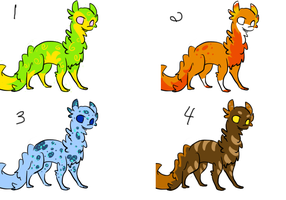 Creature Adopts by Fantasaurus