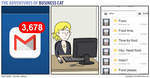 The Adventures of Business Cat - Messages by tomfonder