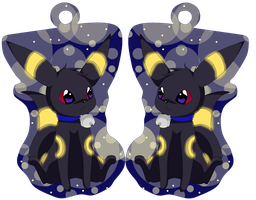 Umbreon key ring pendant by katze-des-grauens
