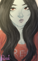 Painting Attempt 1 Layer: Marcy by ruui-sama