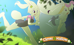 Clover and Petal Adventure is afoot! by CookingPeach