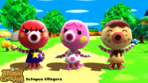 (MMD Model) Octopus Villagers Download by SAB64