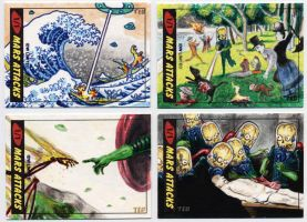 Mars Attacks - Famous Paintings by tdastick