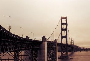 Golden Gate Bridge by BennyBrand