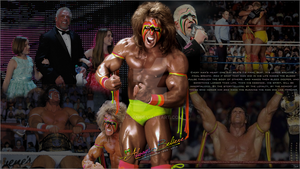Ultimate Warrior - Wallpaper by ByDGX