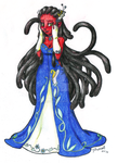 Formal Wear Tentacle Monster by chibimonk