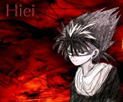Hiei Sketch by iFruityy