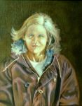 Portrait of Linda, Winter by hank1