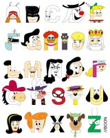 Child of the 60s Alphabet by mbaboon