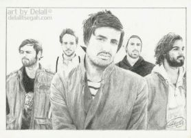 Young the Giant by samurai-dkt