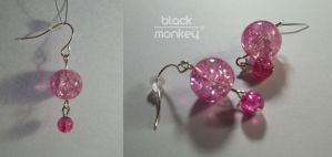 so pink by black--monkey