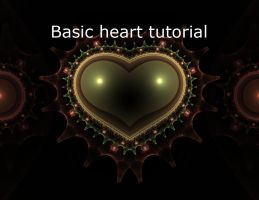 Basic Heart Tutorial by mfcreative