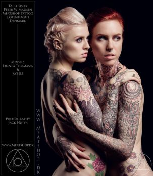 The canvasses and goddesses of Meatshop Tattoo by Meatshop-Tattoo