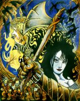 Snow White and The Huntsman by ragzdandelion