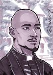 TWD Gabriel Stokes ACEO by micQuestion