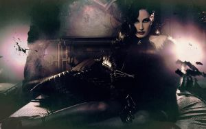 Dita Von Teese Wallpaper. by giney-kill