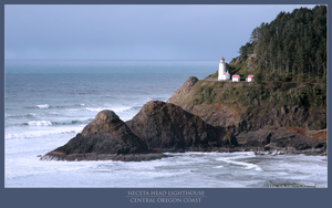 Lighthouse at Heceta Head by oo7genie