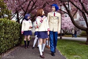 -CLANNAD- Walk to School by Umeiwa
