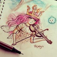 Child of Light  Lindsey Stirling by Priscila-Mizu33