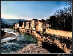 My village and the river... by Michel-Lag-Chavarria
